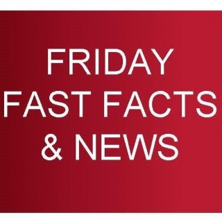 Friday Fast Facts Volume 160, dated 9th November 2018